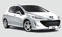 rent a car Crna Gora Peugeot 308 1.6