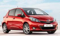 rent a car Crna Gora Toyota Yaris 1.3