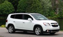 rent a car Crna Gora Chevrolet Orlando