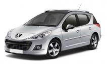 rent a car Crna Gora Peugeot 207