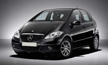 rent a car Crna Gora Mercedes A class
