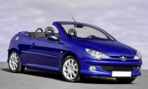 rent a car Crna Gora Peugeot 206cc