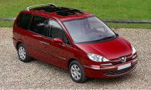 rent a car Crna Gora Peugeot 807 2.0