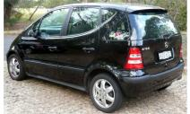 rent a car Crna Gora Mercedes A160 2.0