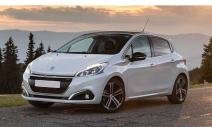 rent a car Crna Gora Peugeot 208