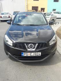 rent a car Crna Gora Nissan Quasqai