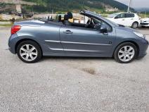 rent a car Crna Gora Peugeot 207cc