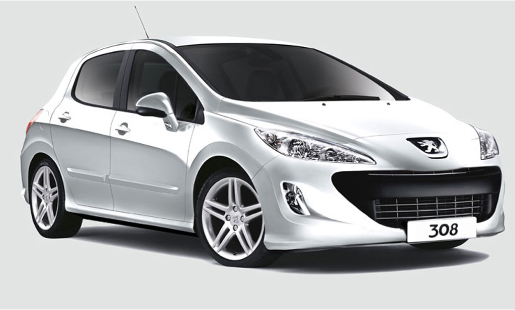Peugeot 308 1.6  - rent a car Crna Gora