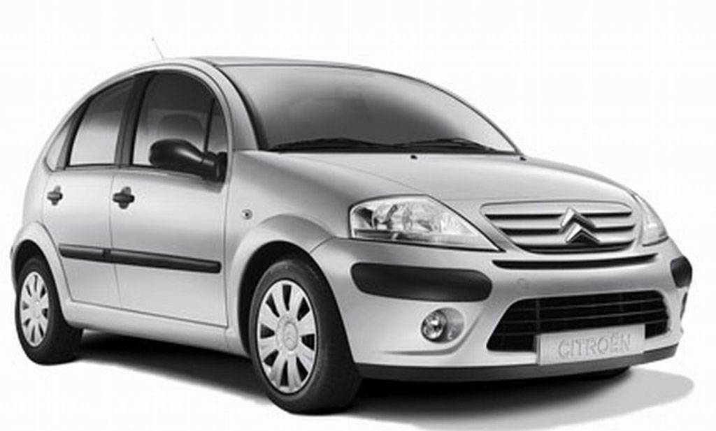 Citroen C3 1.4  - rent a car Crna Gora