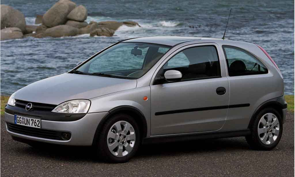 Opel Corsa  - rent a car Crna Gora