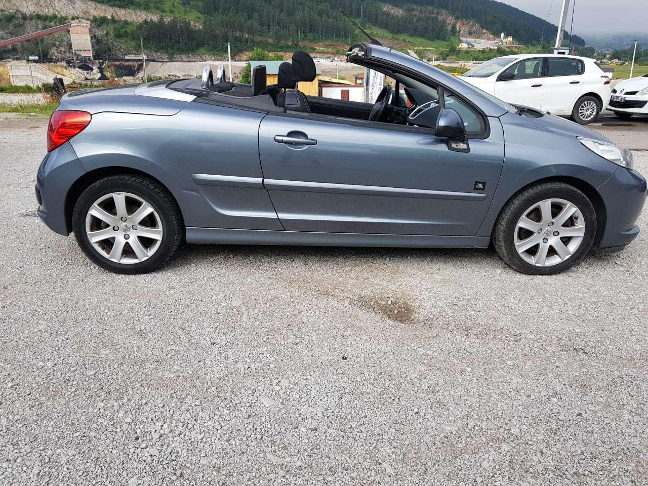 Peugeot 207cc  - rent a car Crna Gora